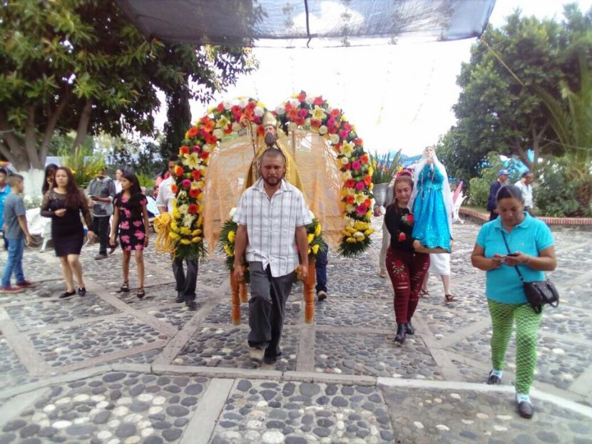 Fiesta patronal en honor a San Agustín, San Juan Yurécuaro