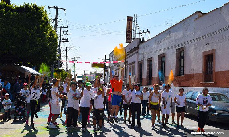 """Se llevará a cabo segunda edición de """"The Color Run"""" en Maravatío"""