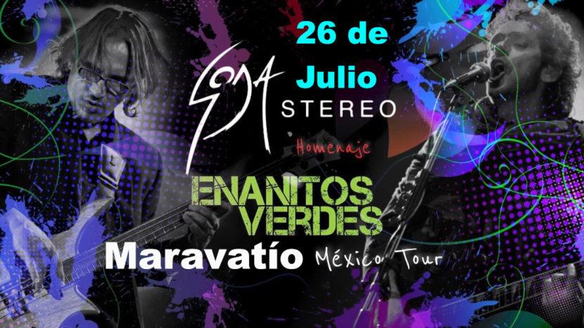 Desde Argentina «3 de ellos», tributo a Enanitos verdes y Soda Stereo, en Maravatío