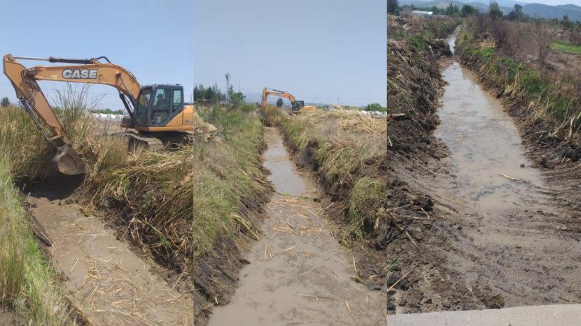 Ayuntamiento de Maravatío da continuidad a limpieza y desazolve de canales