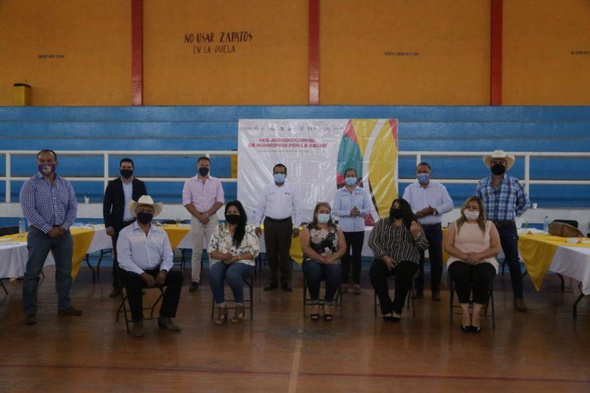 Maravatío, sede de la reunión de red Jurisdiccional de Municipios por la Salud