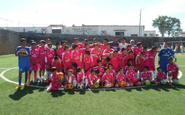 El futbol, una opción para crear buenos seres humanos: FC Contepec