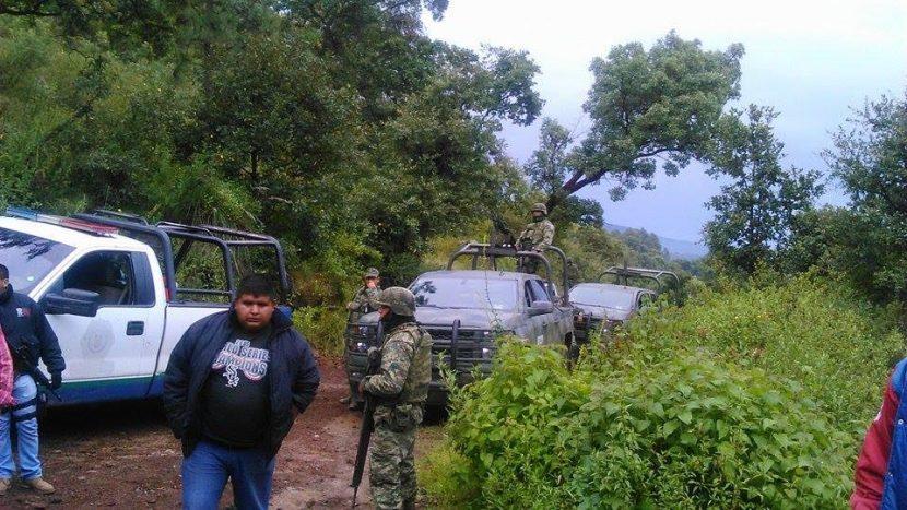 Mando unificado de Maravatío frustran secuestro sobre el camino a Palomas