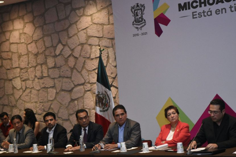 Acuerda Gobierno de Michoacán con CNTE celebración de Congreso Educativo