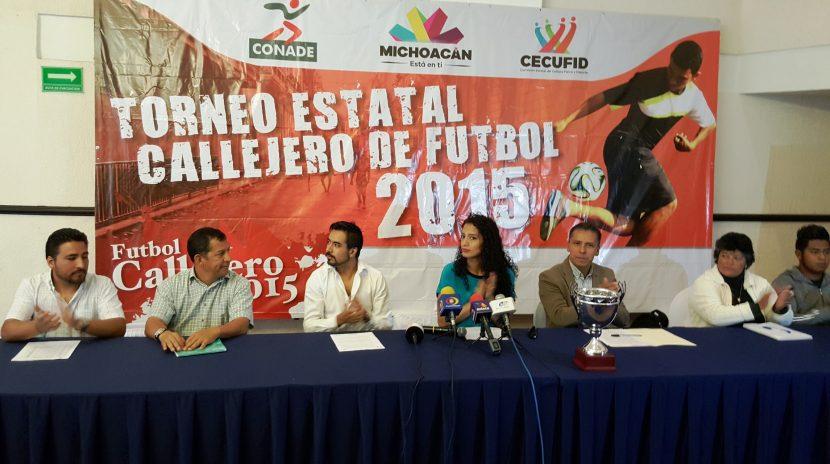 Maravatío estará presente en el Torneo Estatal de Futbol Callejero 2015