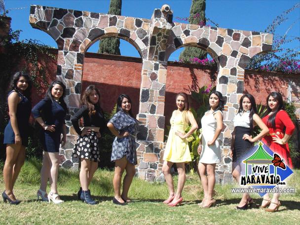 Candidatas Reina Carnaval San Miguel Curahuango 2016