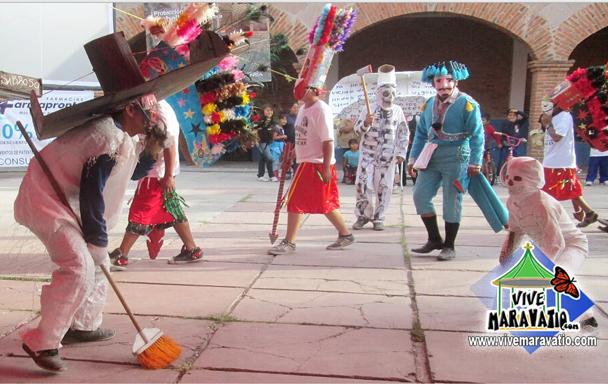 El Significado del carnaval de San Miguel Curahuango, Michoacán.