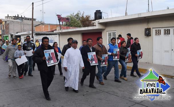 Con gran éxito se lleva a cabo la pega de Bando y Festival de Reyes Magos en San Miguel Curahuango