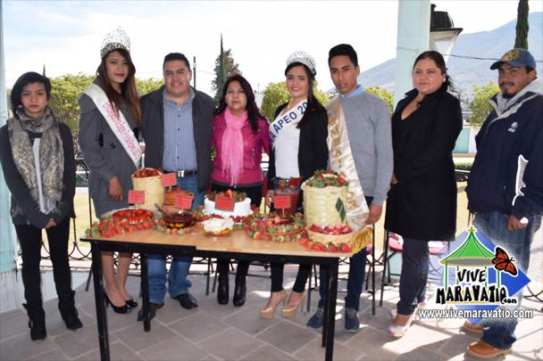 Se elaborará pastel monumental durante la Expo Fresa Apeo 2016