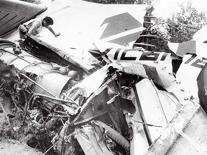 Hoy se cumplen 31 años del trágico accidente aéreo ocurrido en Maravatío