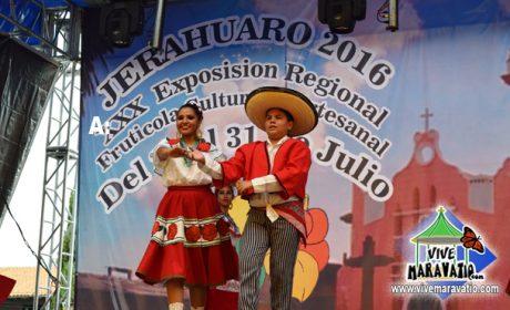 Con gran éxito se desarrolla la XXX Exposición Regional Frutícola, Cultural y Artesanal Jeráhuaro
