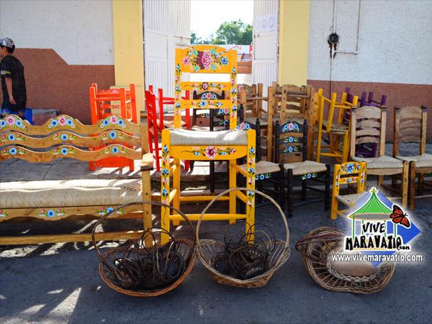 Mercado de artesanías Maravatío
