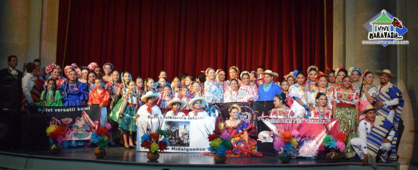 """Con invitados de lujo, se celebró el Primer Aniversario del Ballet Folklórico """"Erandeni"""""""