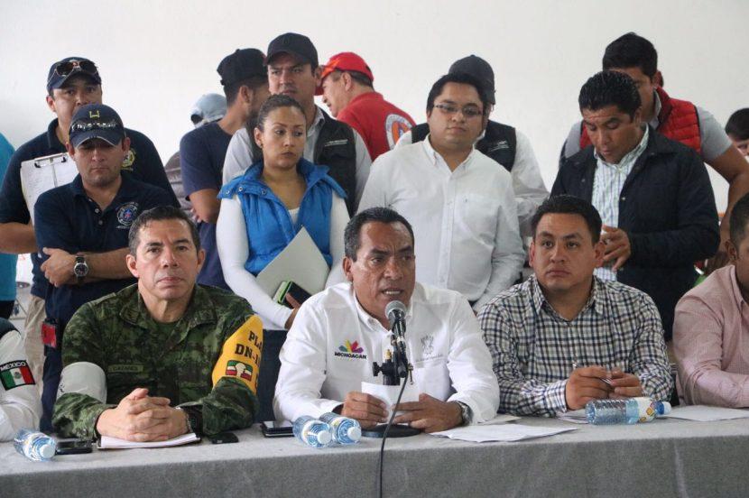 Instalan Comité de Emergencias y Desastres en Uruapan