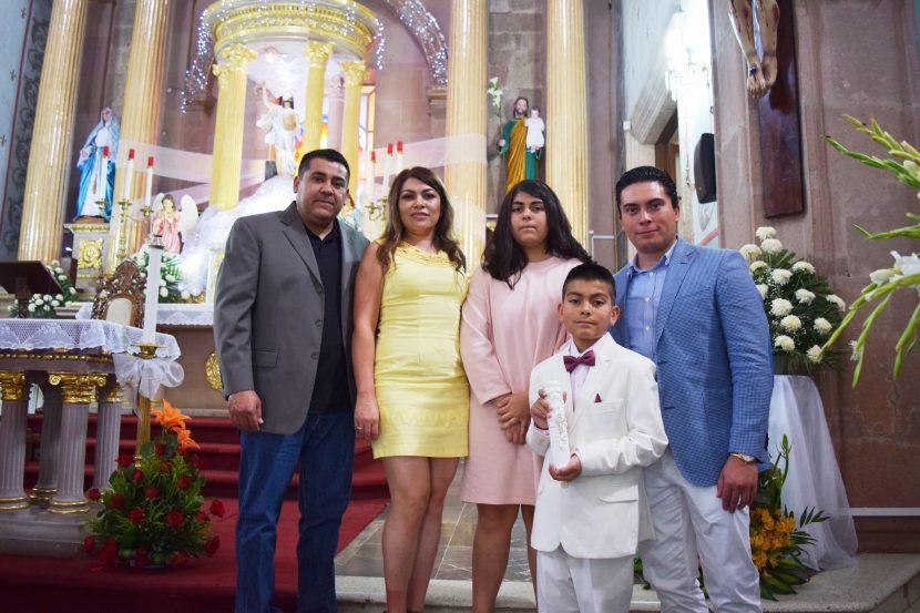 Celebra su confirmación Marko A. Ibarra Ríos