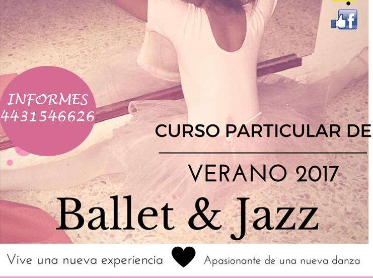 Curso de verano: Ballet y Jazz
