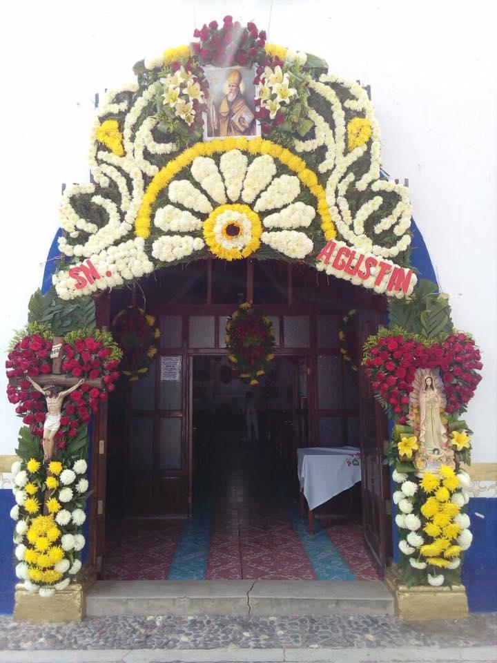Entrada del templo