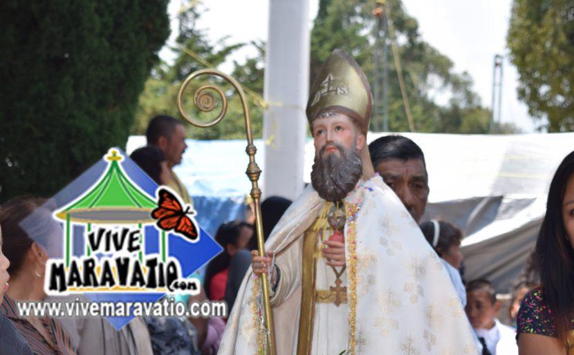 28 de agosto, celebración a San Agustín en la tenencia de Yurécuaro