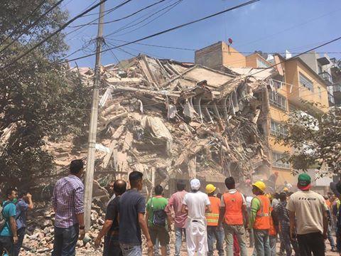 Más de 100 muertos por sismo registrado en México