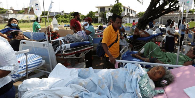 Suman 58 muertos por sismo de 8.2
