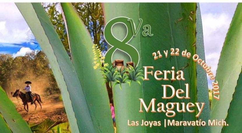 Se celebrará la 8° Feria del Maguey Las Joyas 2017 este 21 y 22 de octubre
