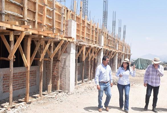 Avanza construcción de Universidad Tecnológica del Oriente de Michoacán: IIFEEM
