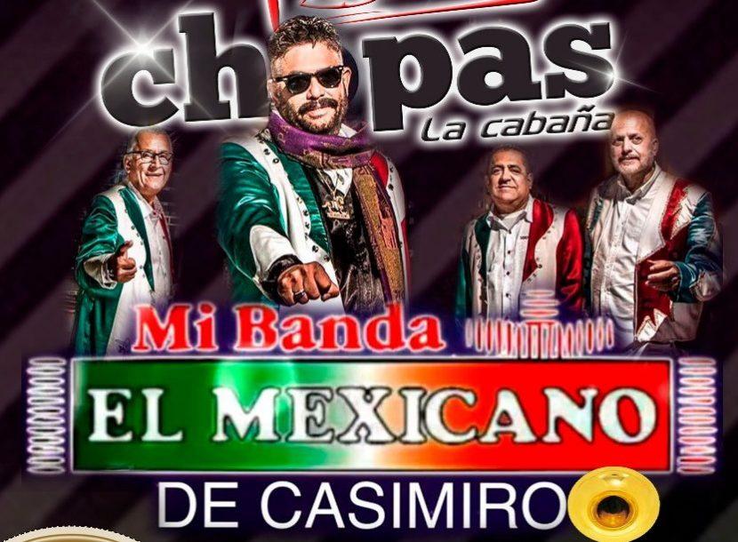 """Llega a Chopas La Cabaña su majestad """"Mi Banda El Mexicano"""""""