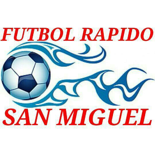 """Rol Fútbol Rápido """"San Miguel"""", semana 14 al 19 de mayo 2018"""