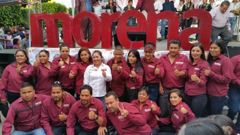 El cambio está en sus manos, Francisco Carrillo en cierre de campaña
