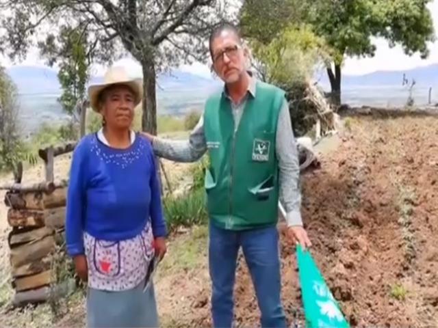 Banco de alimentos y estancia del adulto mayor será una realidad: Roberto Flores