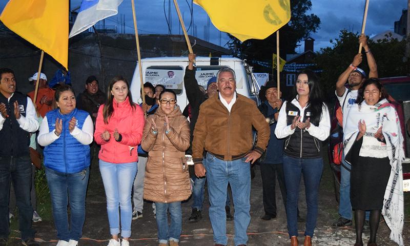 El dinero es del pueblo no de los funcionarios públicos: Jaime Hinojosa