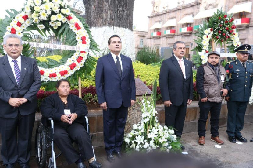 Conmemoran a víctimas del atentado del 15 de septiembre de 2008 en Morelia