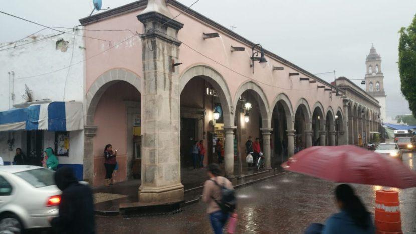Lluvias por el día y tormentas por la noche en Maravatío