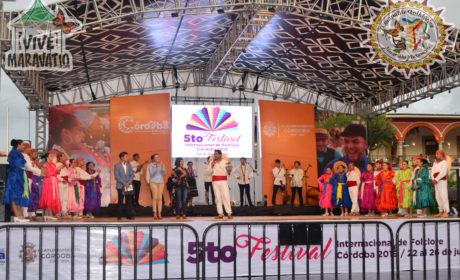 Compañía Folklórica de Maravatío representa a México en Festival Internacional de Córdoba