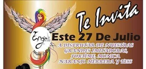 Te invita a su Gran Inauguración Engels Night Club, un lugar de libre expresión en Maravatío