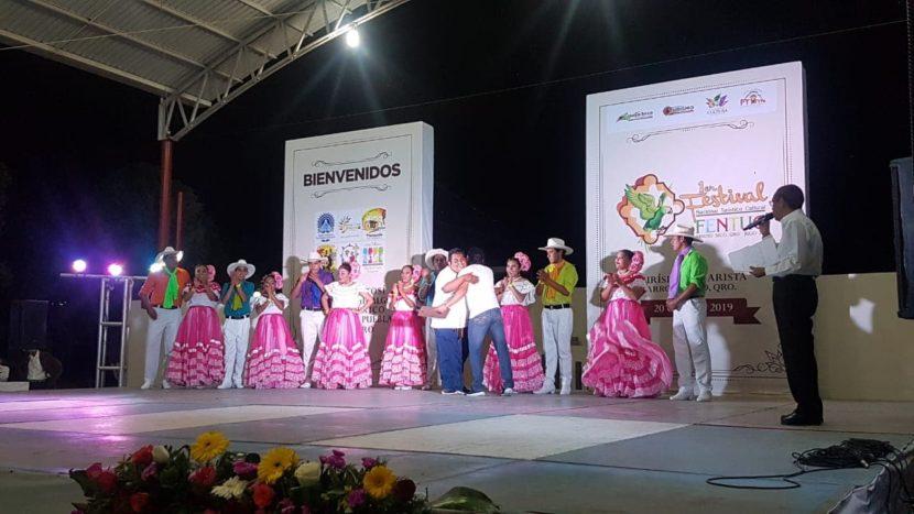 Ballet Folklórico Erandeni participa en el 1er Festival Nacional Turístico y Cultural en Querétaro