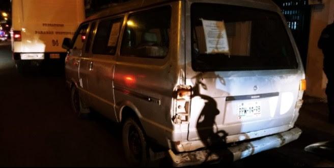 Detiene SSP a uno con vehículo robado en Ciudad Hidalgo