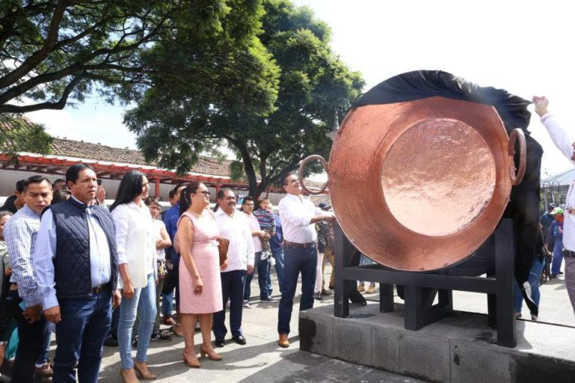 Inauguran la 54 Feria Nacional del Cobre y el 74 Concurso de Cobre Martillado