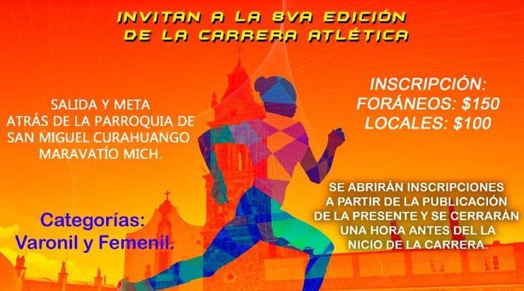 8va. Edición de la Carrera Atlética de San Miguel Curahuango 2019