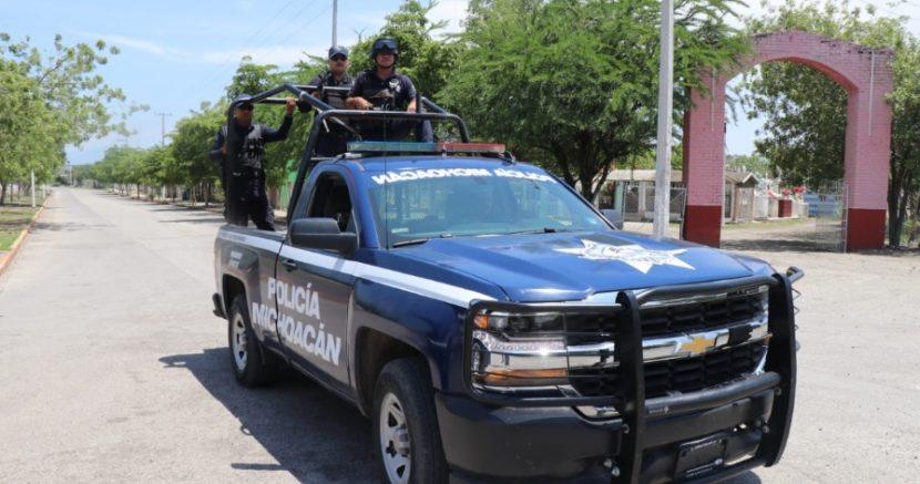 En julio se detuvo a 64 personas y se recuperaron 35 vehículos robados, en la región Zitácuaro