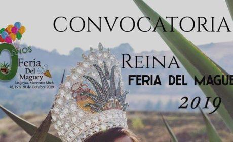 Participa en el certamen Reina de la Feria del Maguey 2019