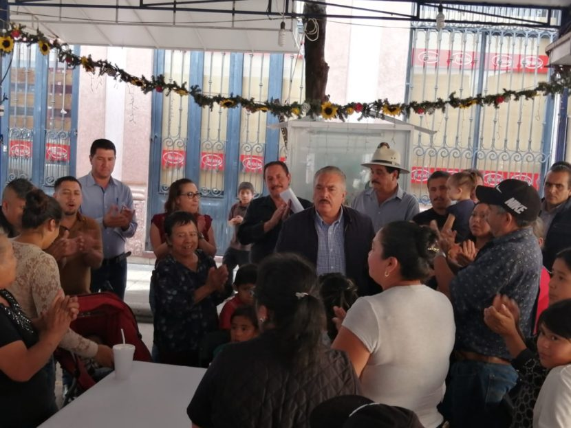 Jaime Hinojosa Campa comprometido con los comerciantes