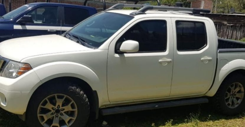 Localizan camioneta con reporte de robo en Tuxpan