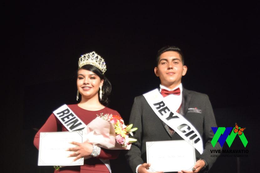 Jaqueline Romero Guzmán y Javier Núñez Padilla, obtienen el título de Reina y Rey CIU 2019 respectivamente.