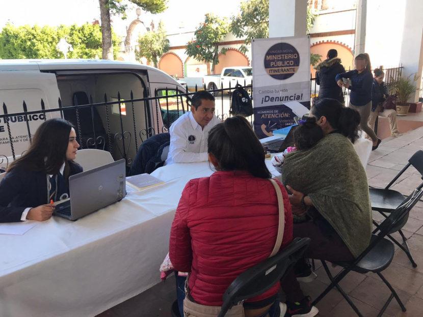 MP Itinerante atendió a mujeres de la Tenencia de San Miguel Curahuango