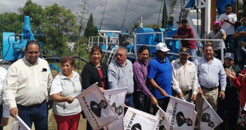 En octubre, Ayuntamiento de Maravatío arrancó la perforación de un pozo en Santa Ana