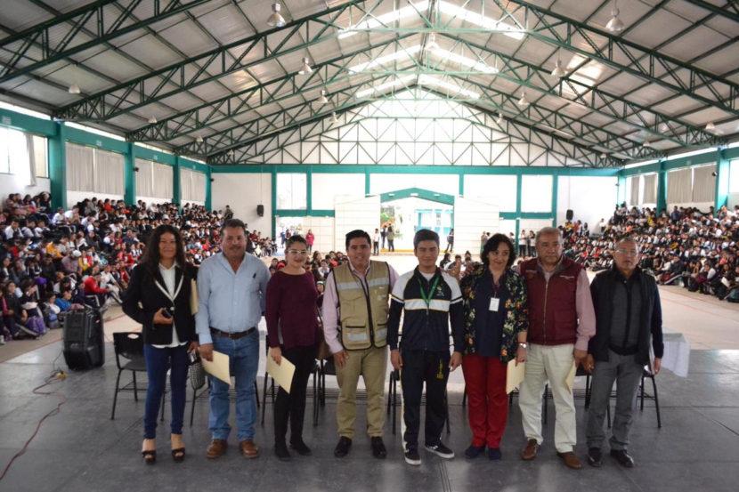 Reciben estudiantes del CBTa 181, Beca Universal Benito Juárez