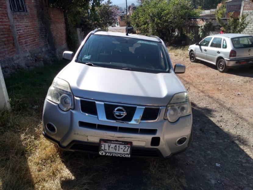 Recuperan camioneta robada en Indaparapeo