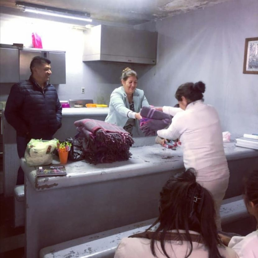 Dependencias de Maravatío llevan diversos apoyos a personas privadas de su libertad