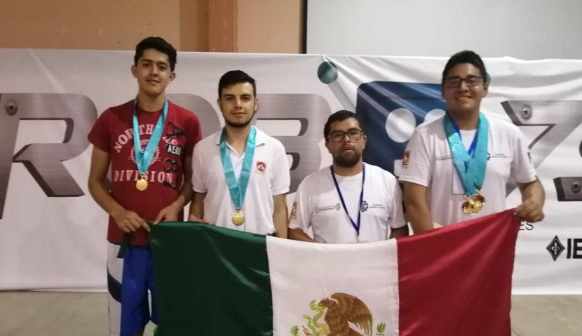 Obtiene Tec Ciudad Hidalgo, 4 medallas en el XRobo7s Perú